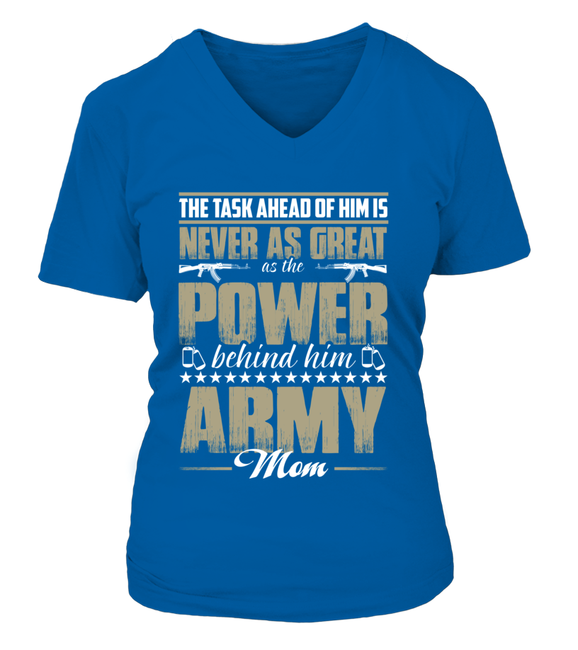Army Mom Power T-shirts