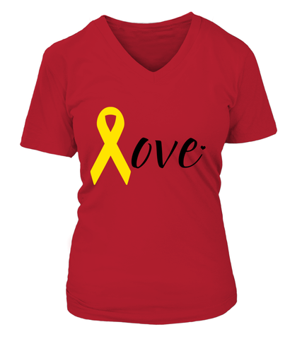 RED Friday Love (Black) T-shirts