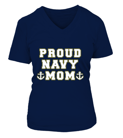 Proud Navy Mom Star T-shirts