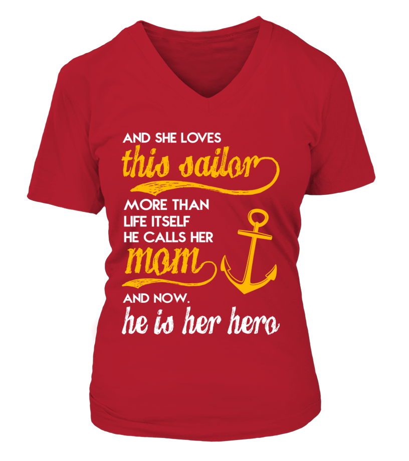 Navy Mom More Than Life Itself T-shirts