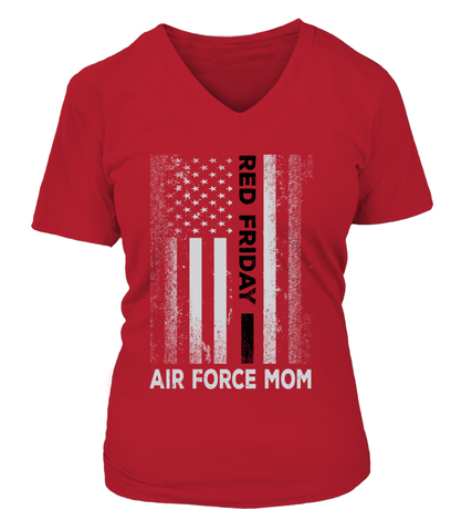 Air Force Mom Red Friday T-shirts