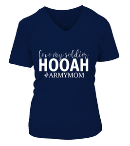Love My Soldier Army Mom T-shirts