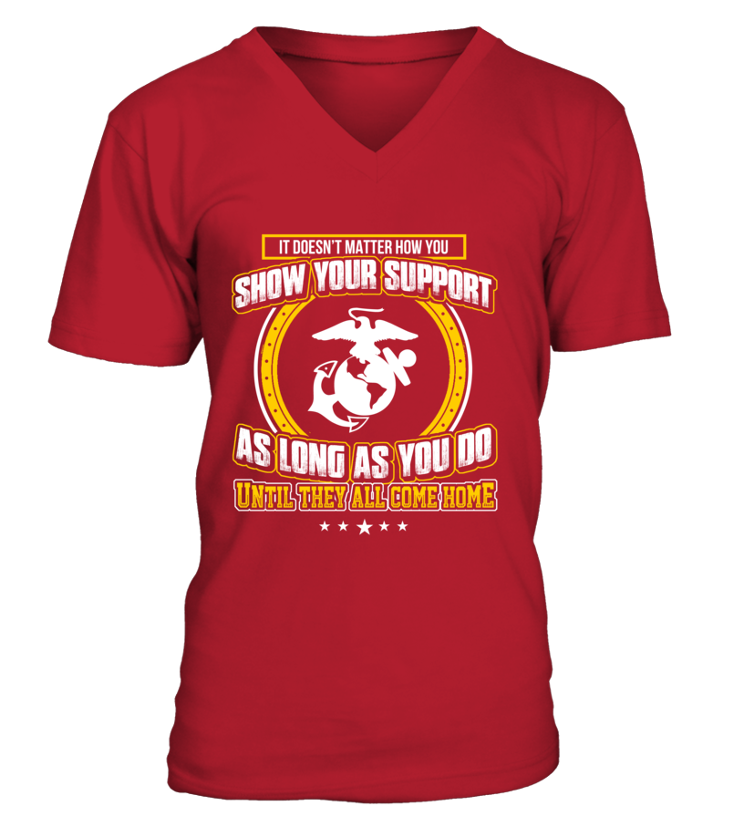 Marine Mom Doesn't Matter T-shirts