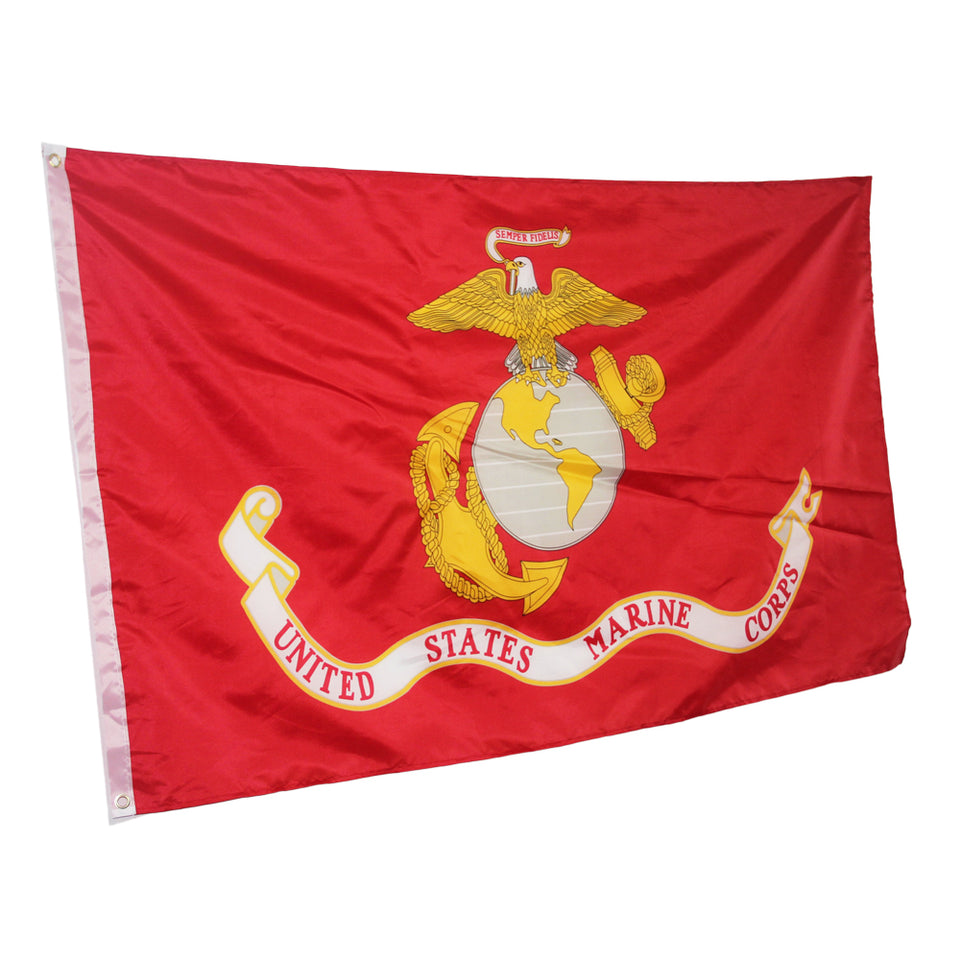 Embroidered United States Marine Corps Flag