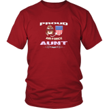Gift Proud Air Force aunt shirt Pride USArmy