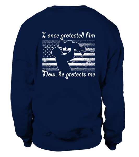 Air Force Dad Once Protected Flag T-shirts