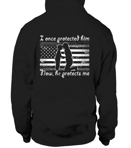 Army Mom Once Protected Flag T-shirts