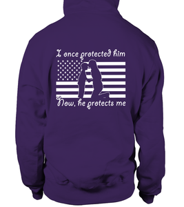 Proud National Guard Mom Once Protected Flag T-shirts