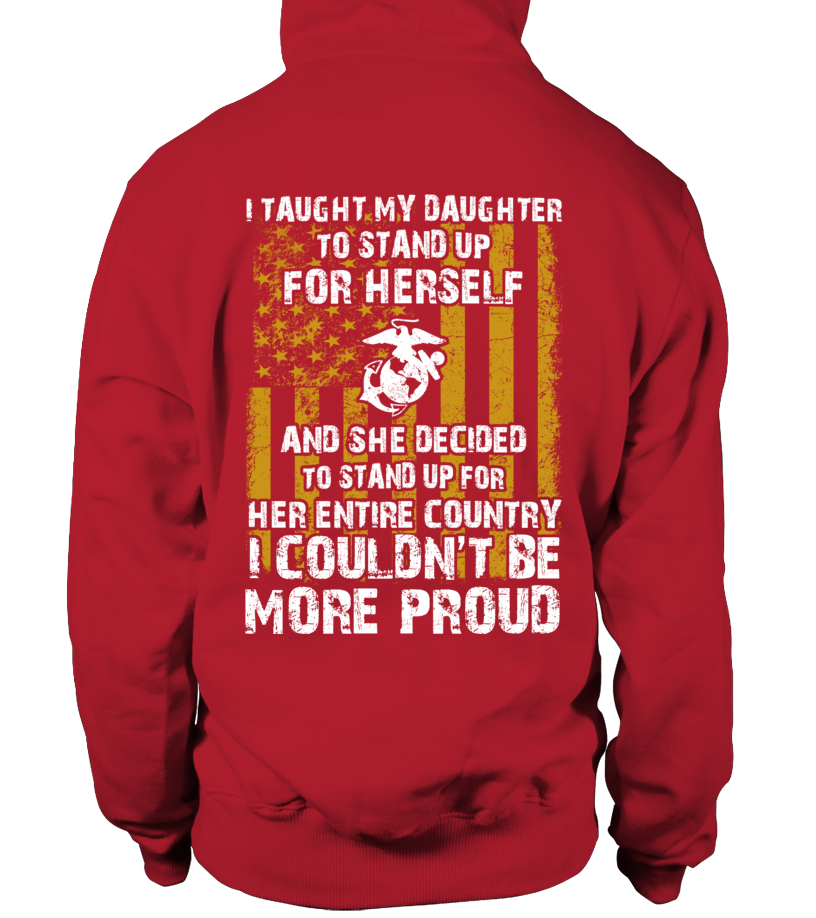 Marine Mom Daughter Couldn't Be More Proud T-shirts