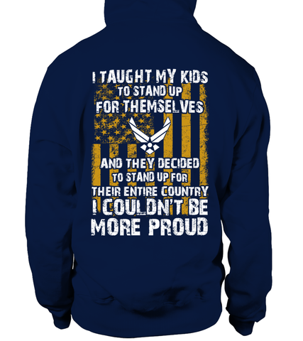 Air Force Mom Kids Couldn't Be More Proud T-shirts
