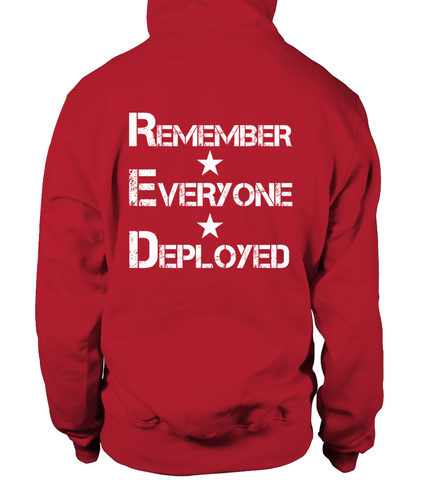 Red Friday Until They Come Home T-shirts