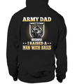 Army Dad Raised A Man T-shirts