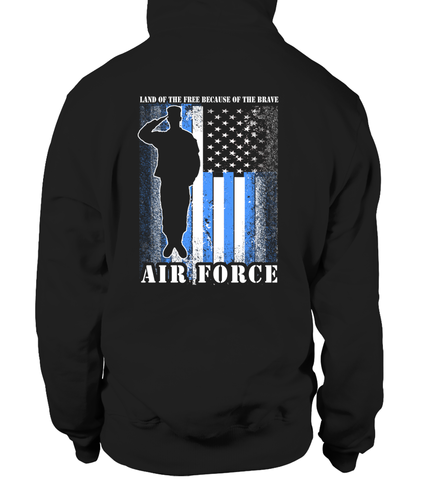 Air Force Mom Land Brave T-shirts - MotherProud