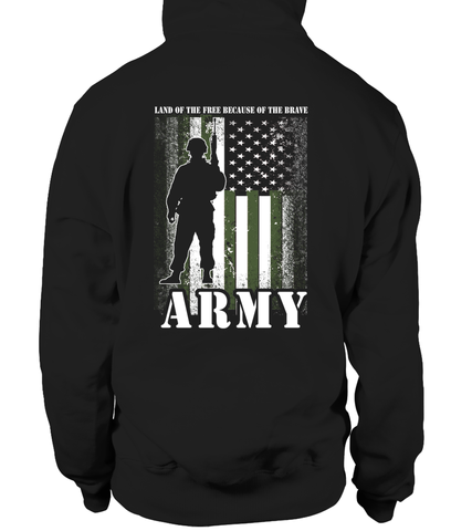 Army Mom Land Brave T-shirts