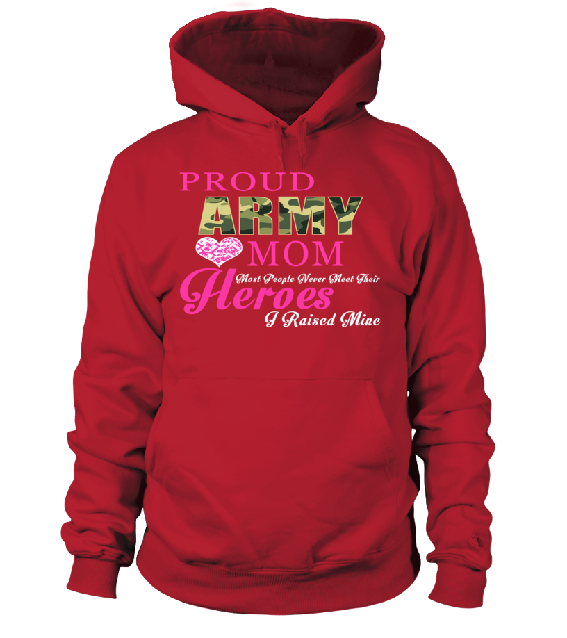 Army Mom Some People T-shirts