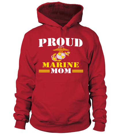 Proud Marine Mom T-shirts