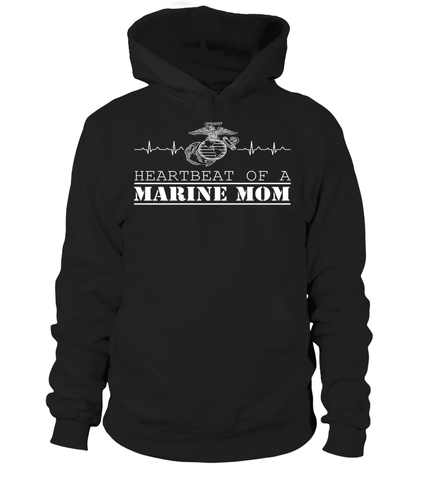 Heartbeat Of A Marine Mom