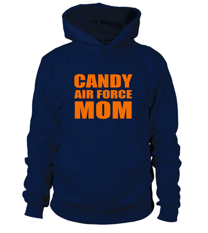 Halloween Candy Air Force Mom T-shirts