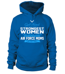 God Found Air Force Moms T-shirts