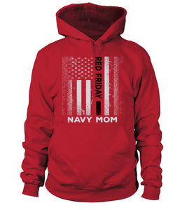 Navy Mom Red Friday T-shirts