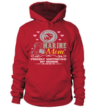 Marine Mom Proudly Support T-shirts