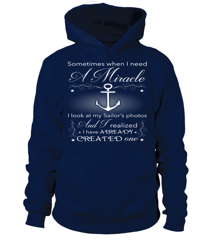 Navy Mom Miracle T-shirts