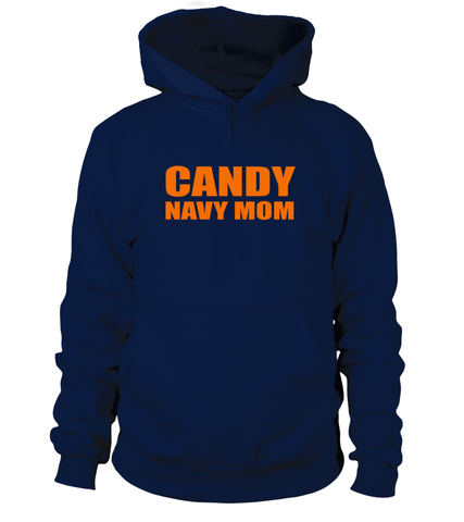 Candy Navy Mom Halloween T-shirts