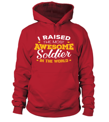 Army Mom Most Awesome T-shirts