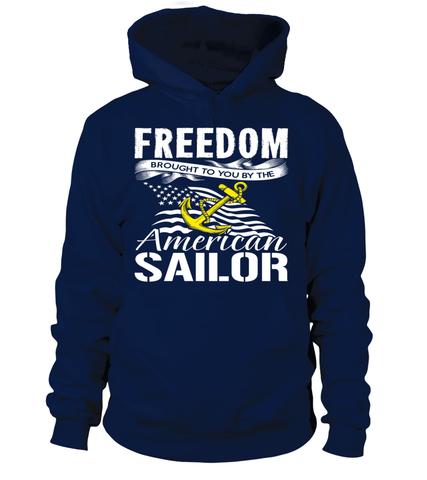 Navy Mom Freedom Brought To You T-shirts