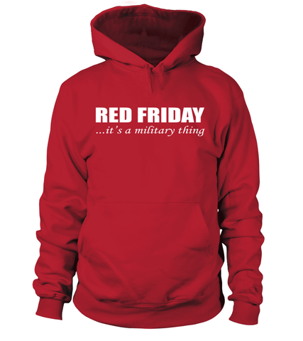 Red Friday Military Thing T-shirts