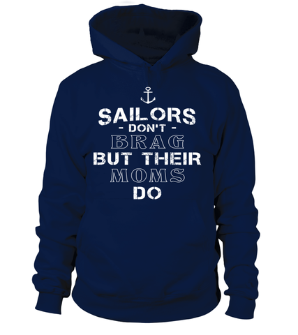 Navy Moms Brag T-shirts