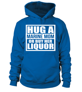 Marine Mom Liquor T-shirts