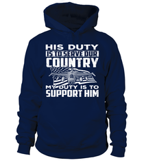 Air Force Mom His Duty T-shirts