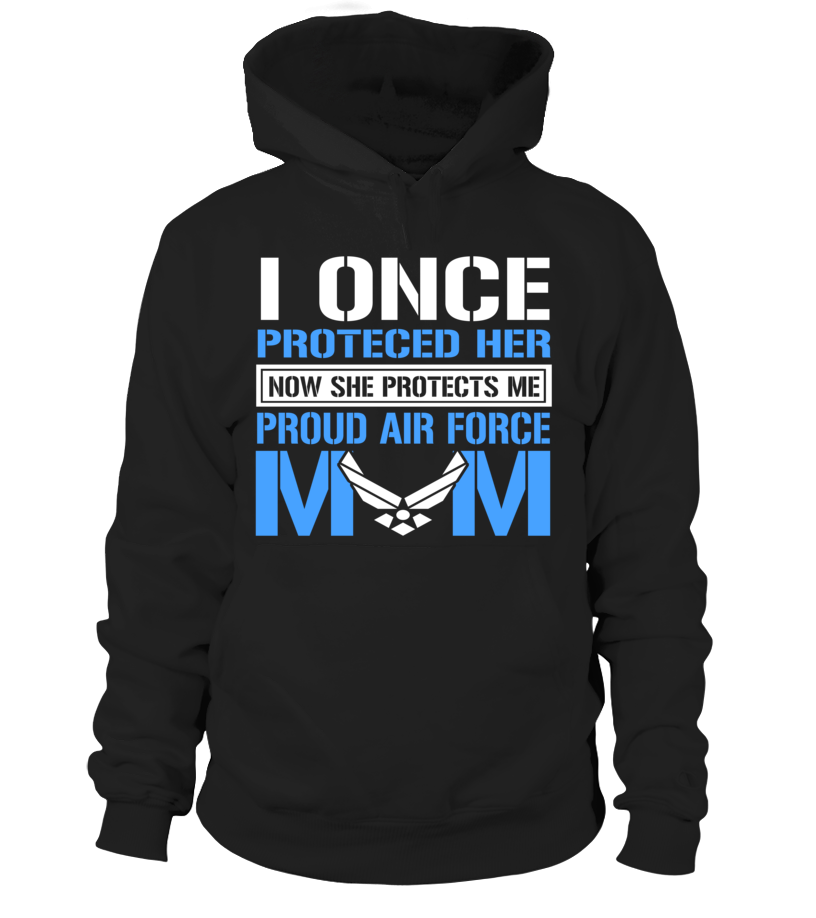 Air Force Mom Protects Daughter T-shirts - MotherProud