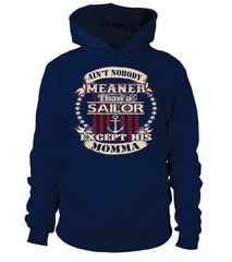 Navy Mom Meaner T-shirts