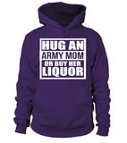 Army Mom Liquor T-shirts