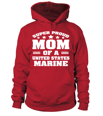 Super Proud Marine Mom T-shirts