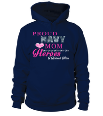 Navy Mom Most People T-shirts