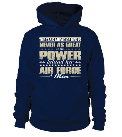 Air Force Mom Daughter Power T-shirts