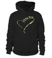 Army Mom Camo Heart T-shirts