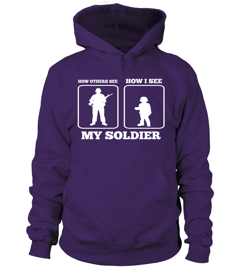 Army Mom How I See T-shirts - MotherProud