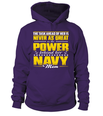 Navy Mom Daughter Power T-shirts