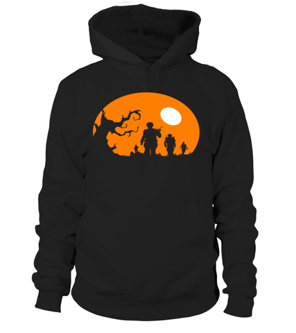 Halloween Theme Military T-shirts
