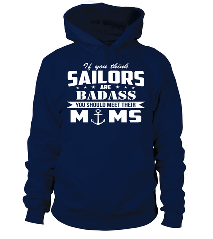 Navy Moms Are Badass T-shirts