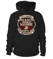 Marine Mom Meaner T-shirts