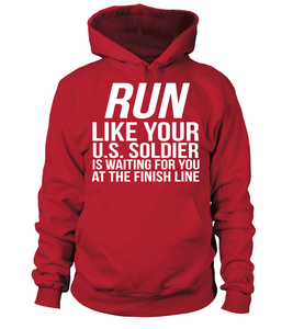 Army Mom RUN! T-shirts