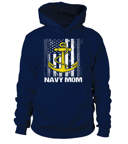 Navy Mom Flag Plus T-shirts