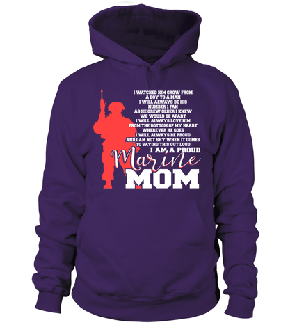 Marine Mom Not Shy T-shirts
