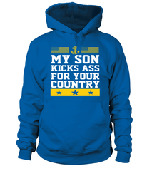 Navy Son Kicks Ass T-shirts