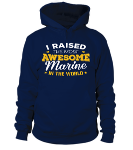 Marine Mom Most Awesome T-shirts